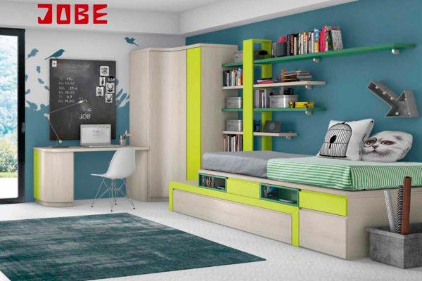 Armario rinc n puerta curva y recta muebles jobe for Muebles jobe