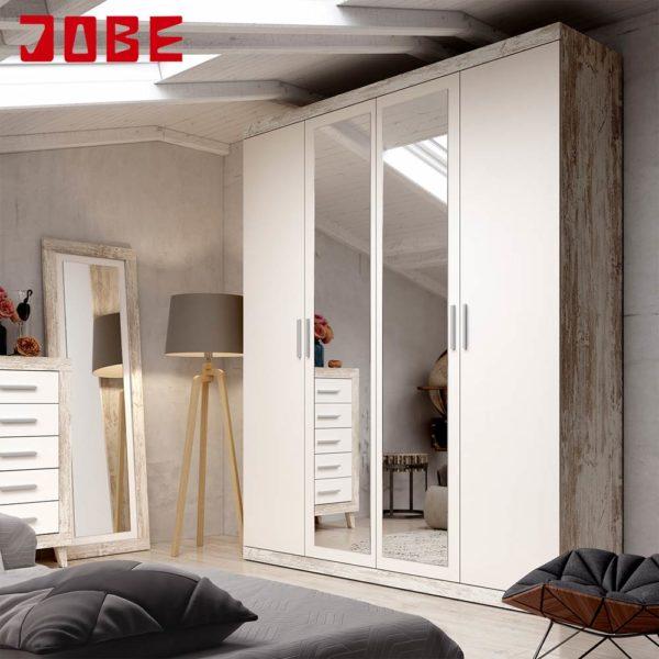 Armario puertas batientes acabado vintage muebles jobe for Muebles jobe