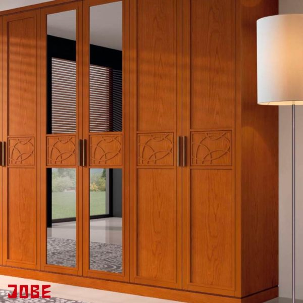 Armario chapado en madera decorado muebles jobe for Muebles jobe