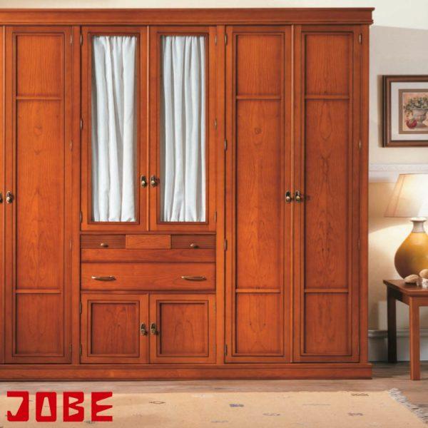 Armario cerezo con visillos muebles jobe for Muebles jobe