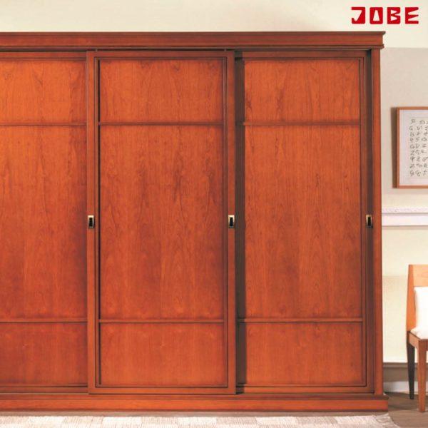Armario puertas correderas cerezo muebles jobe for Muebles jobe