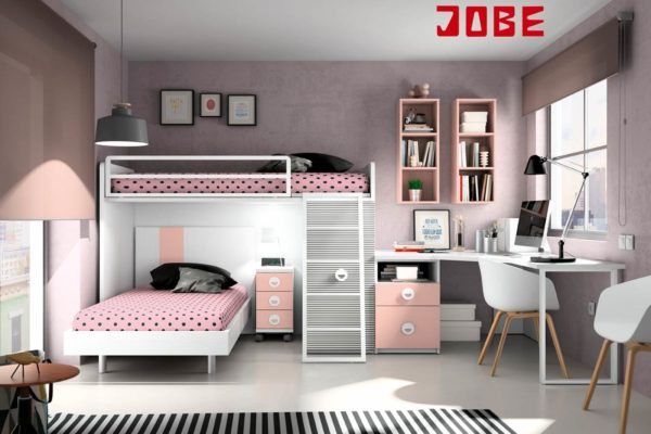 Litera cruzada muebles jobe - Merkamueble habitaciones juveniles ...