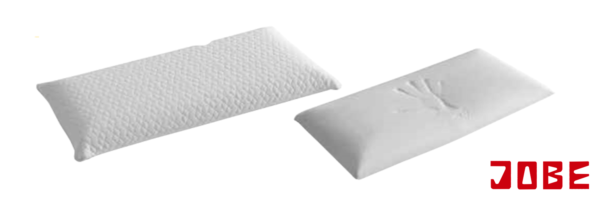 almohadas con viscoelástica disponible en diferentes alturas y firmezas muebles jobe calatayud brea de aragón