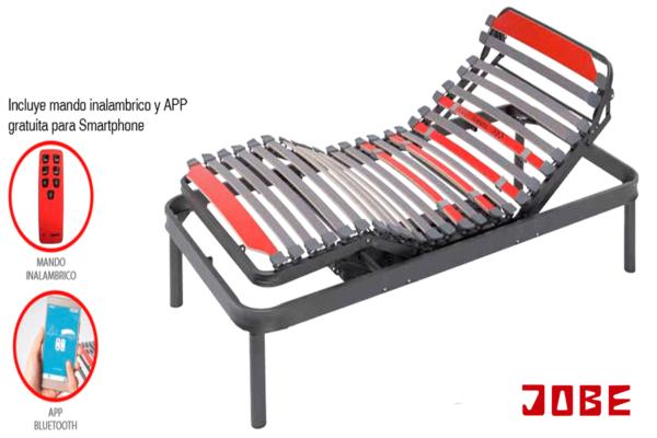 somier articulado eléctrico con mando a distancia muebles jobe calatayud brea de aragón