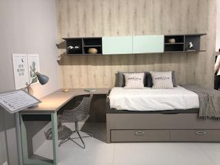 Dormitorio juvenil a medida en muebles jobe Calatayud y Brea