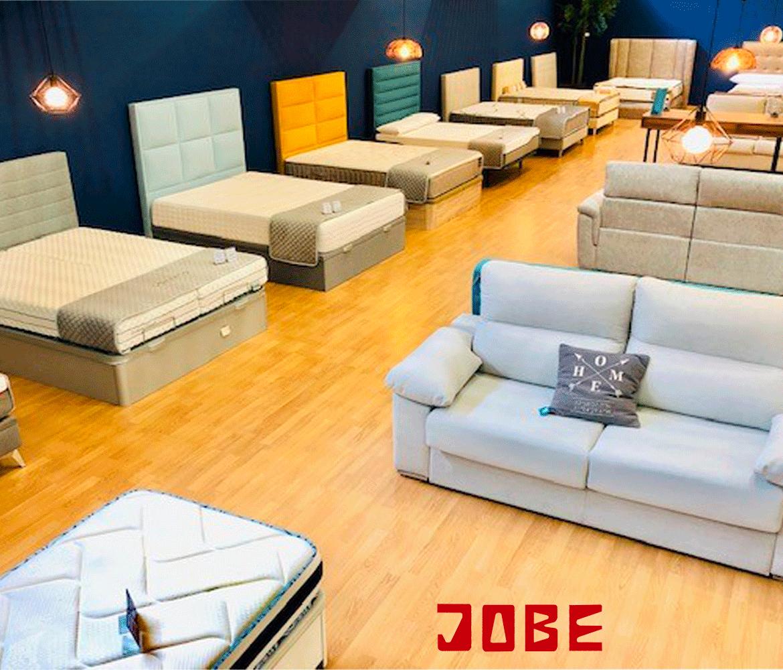 muebles jobe presenta colchones y sofas en la feria de muestras de calatayud